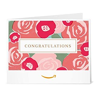 Amazon Gift Card - Print - Congratulations Bouquet (B06WVCRQ5N) | Amazon price tracker / tracking, Amazon price history charts, Amazon price watches, Amazon price drop alerts