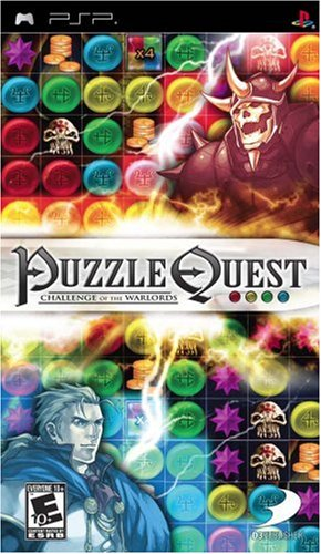 Puzzle Quest: Challenge of the Warlords - Sony PSP (Puzzle Quest Challenge Of The Warlords Psp)
