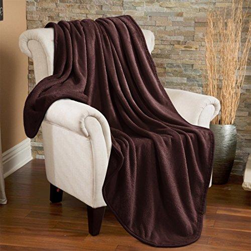 Fleece Throw Blanket 330 GSM Super Soft Warm Extra Silky Lig