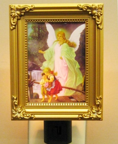 Guardian Angel Night Light Molded, Ul Approved Plug, - Guardian Angel Light