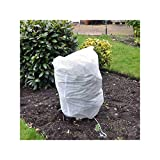 Truoli Pack of 6 Medium Frost Protection Winter Fleece Jackets Cover Protect Plant Shrub 80cm x 60cm