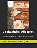 img - for Counting Bricks from Ancient Ruins: Improve Your 3-D Visualization Skills (3-D Visualization Series) book / textbook / text book