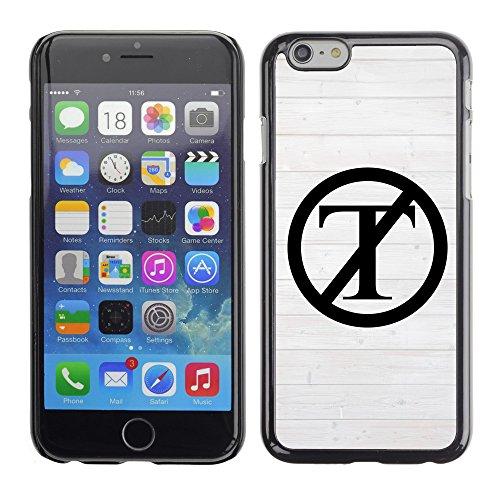 """Print Motif Coque de protection Case Cover // Q04130517 NON Trump clôture blanche // Apple iPhone 6 6S 6G 4.7"""""""