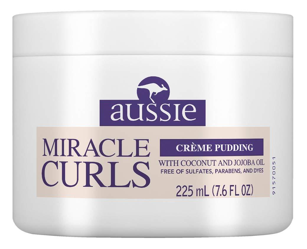 Aussie Creme Pudding Miracle Curls 7.6 Ounce Jar (225ml) P&G-Aussie