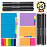 Best Pens With Notepad Sticky - Large and Small Sticky Notes Set with Fineliner Review
