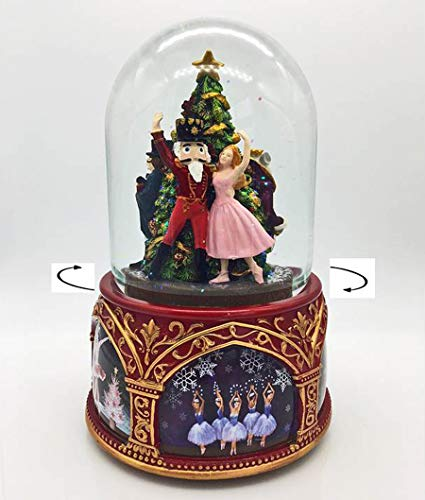 Christmas Snow Globe - Nutcracker Suite Musical Snowglobe - Waterglobe - Christmas Decorations