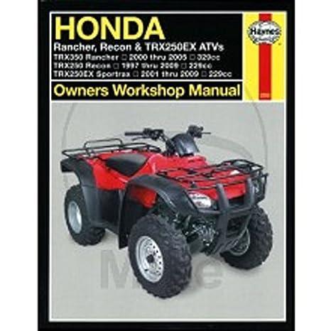 Reparaturanleitung - 702.51.01 - 2553 - Honda ATV TRX: Amazon.de ...