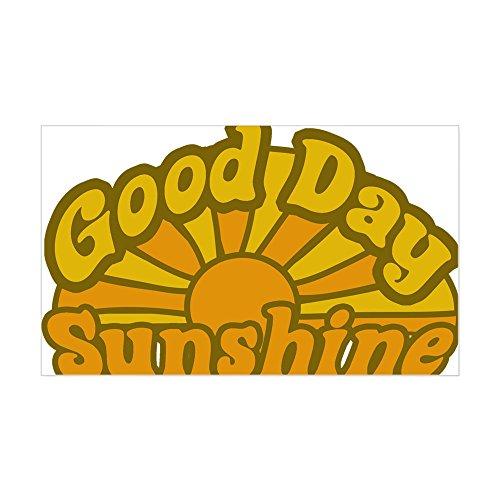 CafePress Good Day Sunshine Rectangle Sticker Rectangle Bumper Sticker Car -