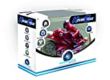 remote motorcycle - Mindscope Hovercycle Red 27 MHz Remote Control (RC) Stunt Performing Light Up Motorcycle