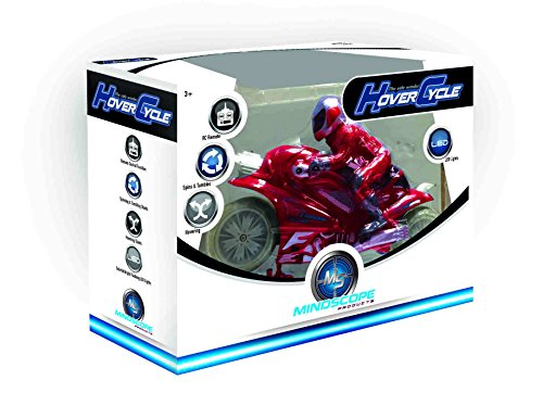 Mindscope Hovercycle Red 27 MHz Remote Control (RC) Stunt Performing Light Up Motorcycle