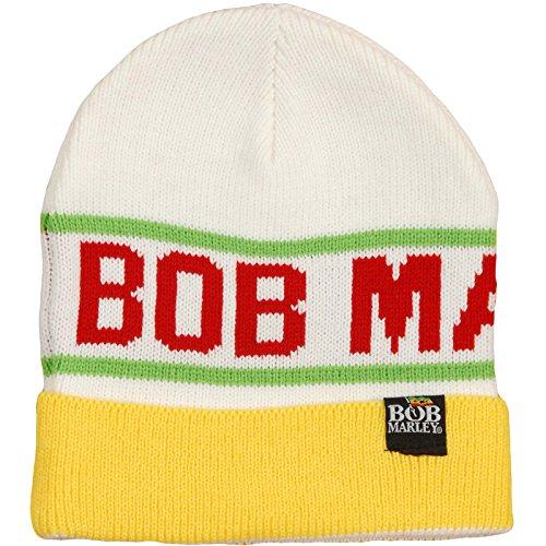 Bob Marley Knit Winter Beanie Hat - Rasta ()