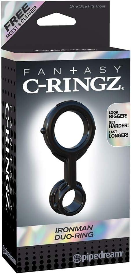 anillo doble para erección