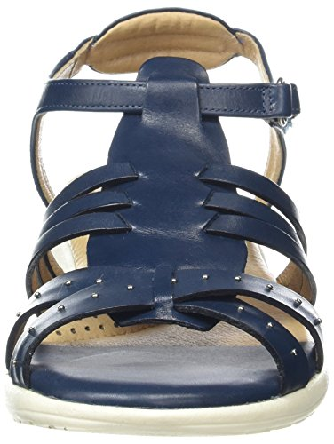 Toe Blue Ocean Open Soft Trek Van Dal Sandals Women's qx1gScwH