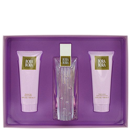 - Gift Set -- 3.4 oz Eau De Parfum Spray + 3.4 oz Body Lotion + 3.4 oz Body Wash