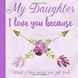 My Daughter I Love You Because What I love About