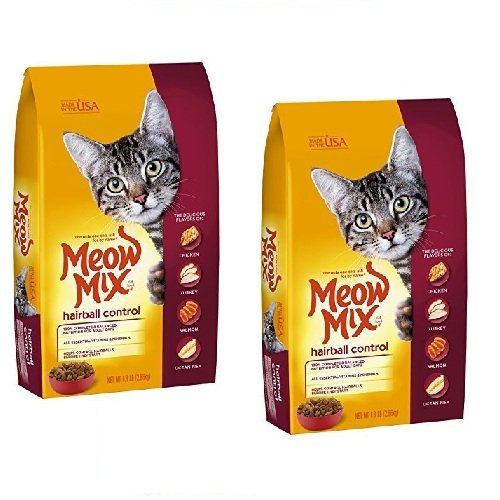 Meow Mix Hairball Control, 6.3-Pounds by Meow Mix (2 Pack)