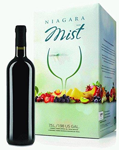 - NIAGARA MIST Strawberry White Zinfandel Wine Kit - Makes wine in 4 weeks. Retail Box by Ubrewusa