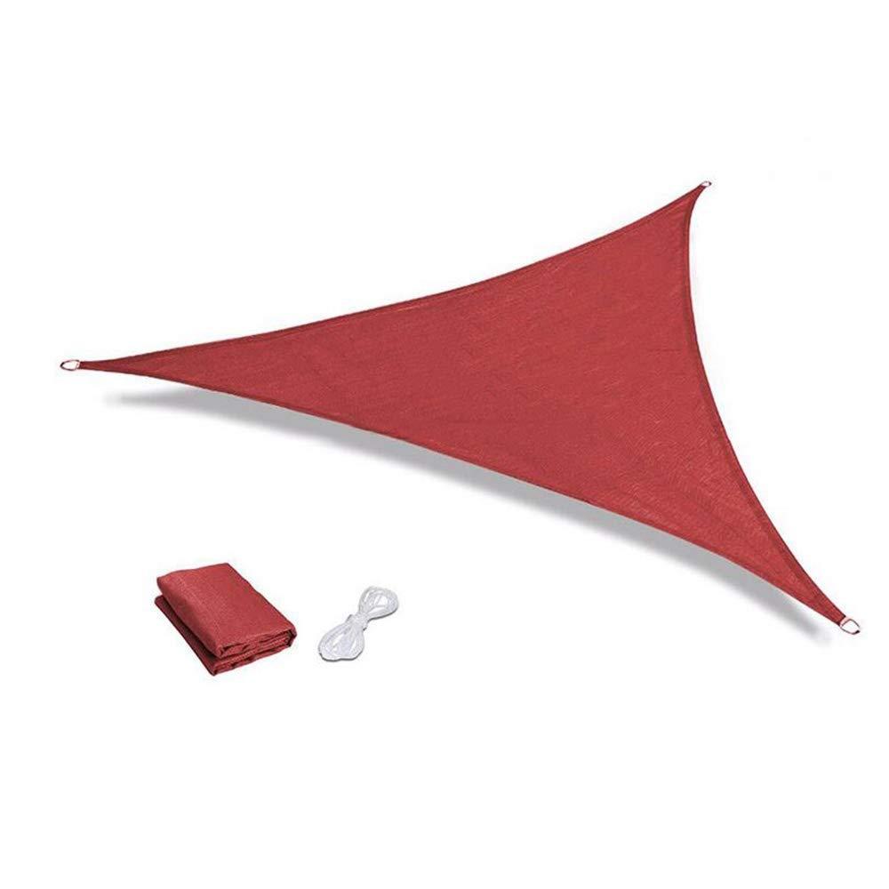 XIAOLIN 通気性のテラスの庭Dリング設計のための砂の三角形の日曜日の陰の帆紫外線ブロックの生地のおおい (色 : D, サイズ さいず : 5X5X5m) 5X5X5m D B07Q8K3XR6