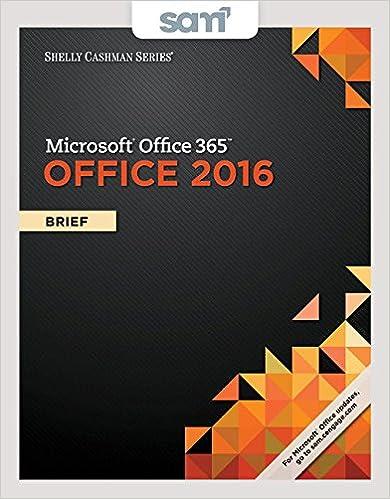 Bundle Shelly Cashman Series Microsoft Office 365 Office 2016