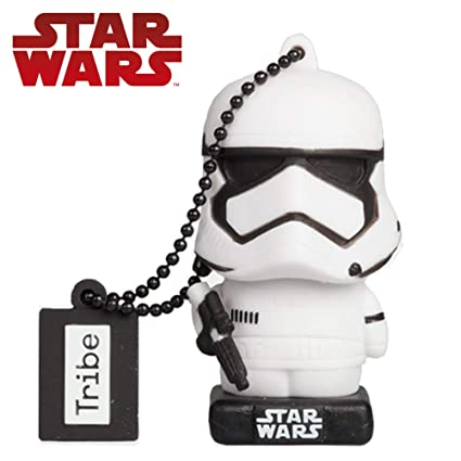 Llave USB 32 GB Stormtrooper TLJ - Memoria Flash Drive 2.0 Original Star Wars, Tribe FD030713