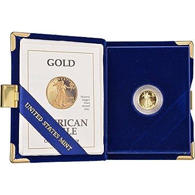 1992 P American Gold Eagle Proof (1/10 oz) $5 OGP US Mint