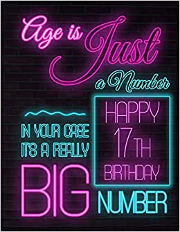 Happy 17th Birthday Better Than A Card Funny Notebook