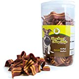 Pet Magasin Dog Treats Snack for Dog, 56 Oz [Sourced & Made in USA] – Soft Beef Bacon Snacks for Dogs (3.5 Pounds)