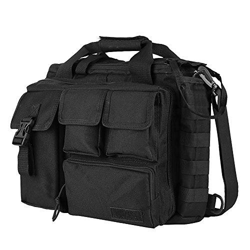 (Koolertron Pro- Multifunction Mens Military Tactical Outdoor Nylon Shoulder Messenger Bag Handbags Briefcase Large Enough for 15.6