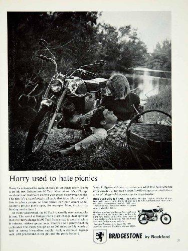 1966-ad-vintage-bridgestone-90-trail-motorcycle-motorcycling-rockford-il-picnic-original-print-ad