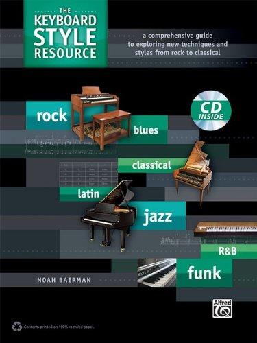 Alfred The Keyboard Style Resource Book & CD by Alfred Music