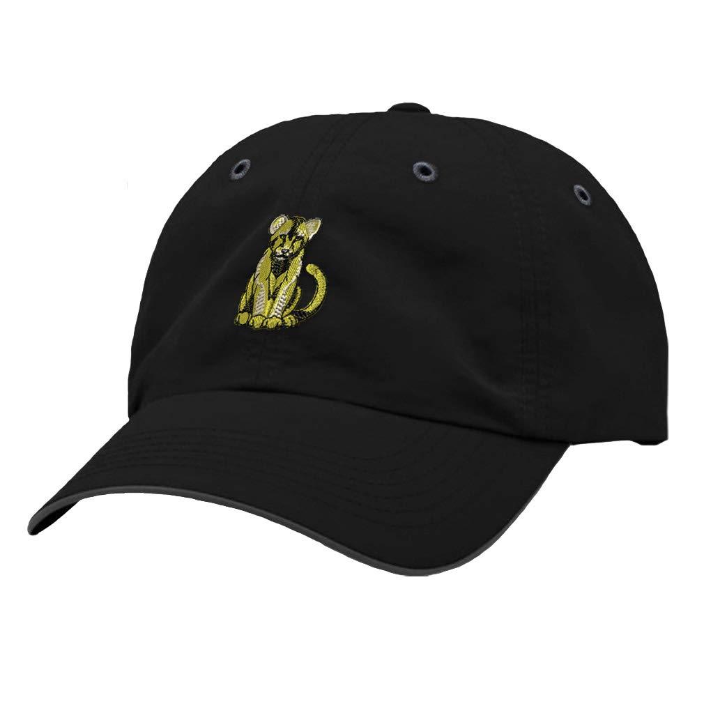 Custom Richardson Running Cap Lion Cub Embroidery Animal Name Polyester Hat