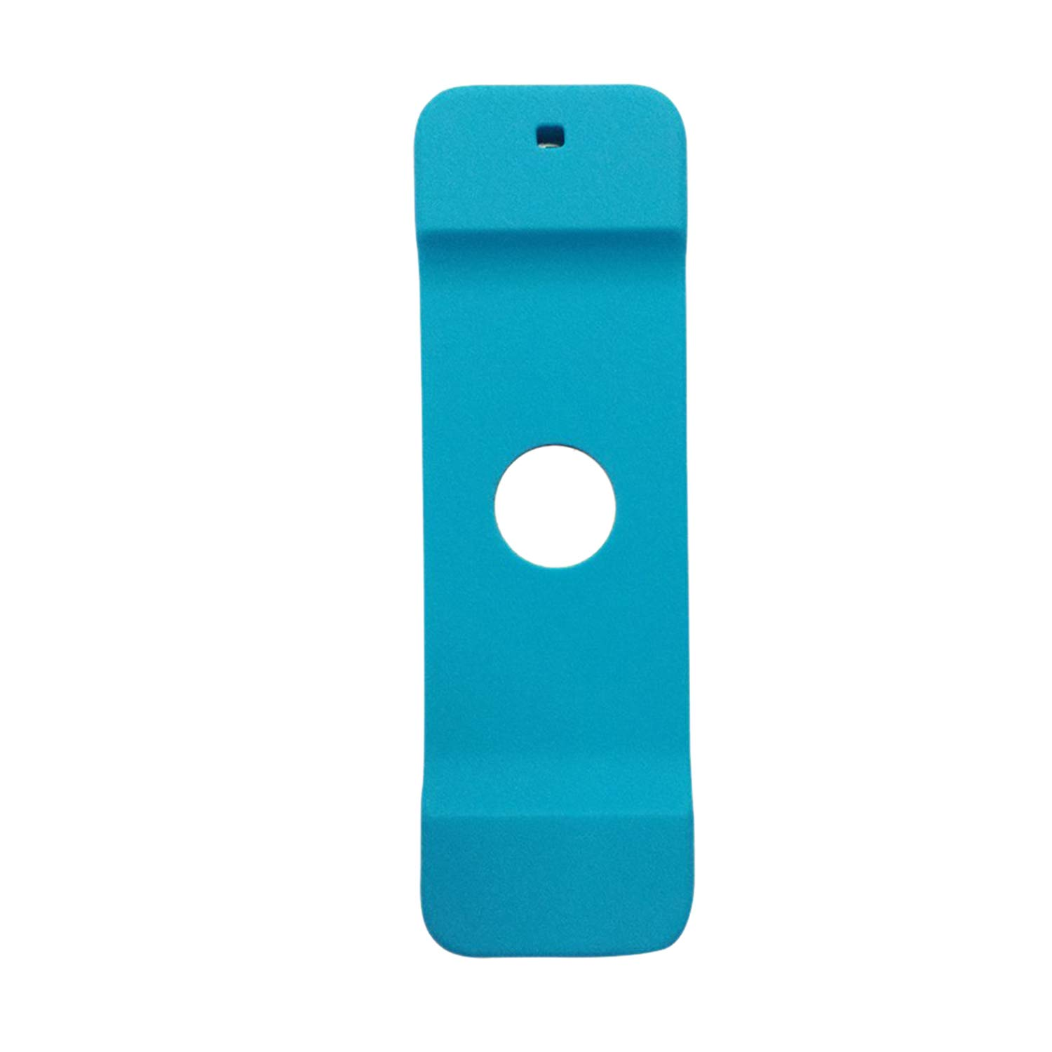 Nrpfell Silicone Fitted Case for Apple TV 4 Remote Control Protector Cover Bag with Lanyard Strap Protection Retail Package for TV4(Blue)
