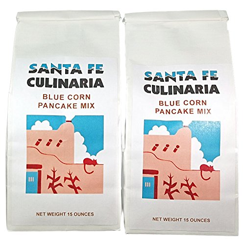 Santa Fe Culinaria Blue Corn Pancake Mix 2 15 Oz ()