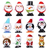 Max Fun Random Color Wind Up Toys for Party Favors (Christmas Wind up Toys)