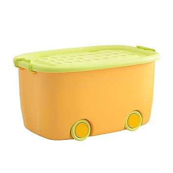 Ahb Grosse Plastikbox Mit Deckel Und Dickem Cartoon Toy Box Farbe