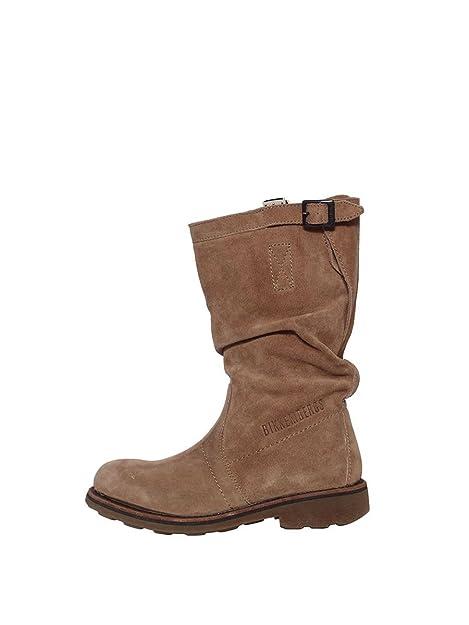 Bikkembergs stivale donna vintage 254 M.boot camoscio sand