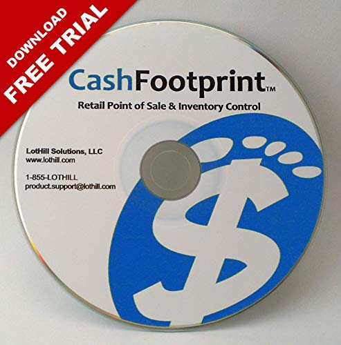 POS Software and Inventory Control, No Monthly Fees, Free Support & Updates – CashFootprint Retail Point of Sale…