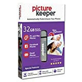 Picture Keeper 32GB Portable Flash USB Photo Backup and Storage Device for PC and MAC Computers