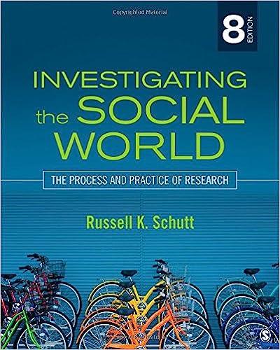 Investigating The Social World 8th Edition Pdf