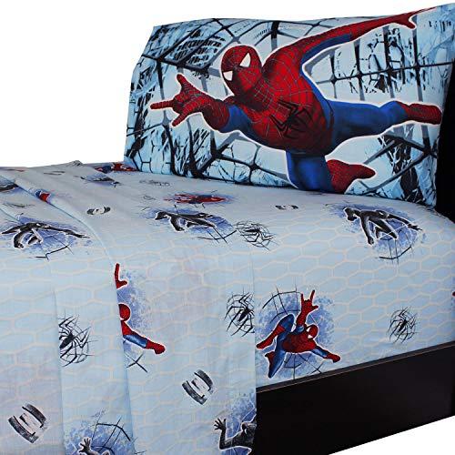 spiderman sheets toddler - 9