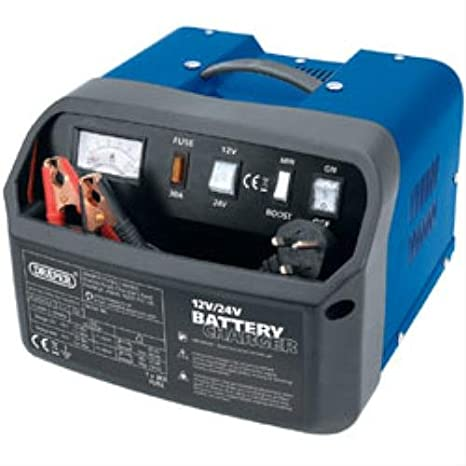 Draper 12 Charger Trolley 11967 24V 360A Garage Car Battery Jump Starter