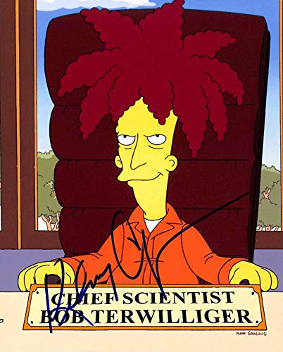 Kelsey Grammer The Simpsons Sideshow Bob Signed 8x10 Photo BAS #H13122 - Beckett Authentication