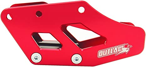 Outlaw Racing Chain Roller Guide 43X24mm Cr125R Cr250R YZ490 Red