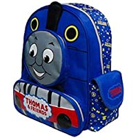 cvvbfgbfg Thomas&Friends The Tank Train Cartoon Canvas School Bag Blue