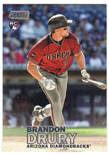 2016 Topps Stadium Club Baseball RC #178 Brandon Drury Arizona Diamondbacks