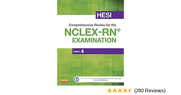 Hesi comprehensive review for the nclex rn examination 4e hesi comprehensive review for the nclex rn examination 4e 9781455727520 medicine health science books amazon fandeluxe Choice Image