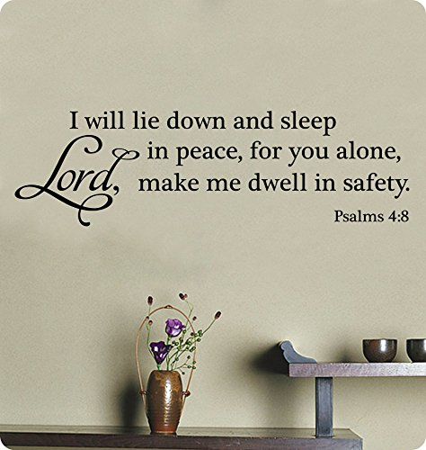 40 Quot I Will Lie Down And Sleep In Peace For You Alone Lord