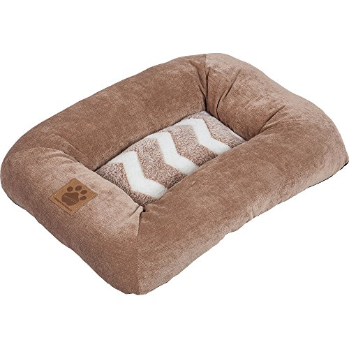 Precision Pet SnooZZy Hip as a Zig Zag Low Bumper Mat , 1000 Tan and (Snoozzy Pet Bed Plush)