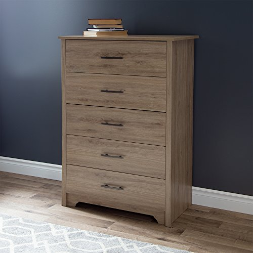 South Shore Fusion 5-Drawer Chest, Rustic