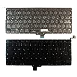 "Apple MacBook Pro A1278 13"" Unibody Backlit Version (Without Backlit Board) Black German Layout Replacement Laptop Keyboard"